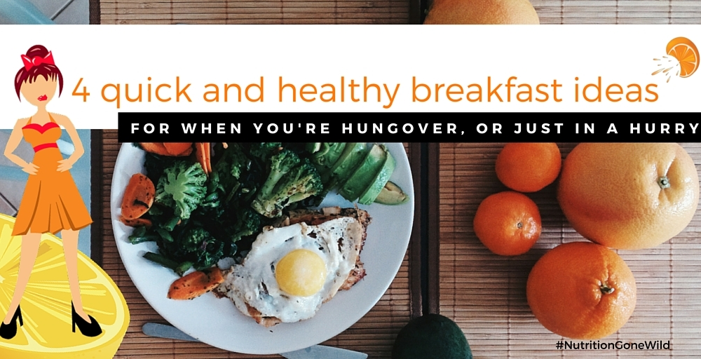 Hangover Breakfast | Nutrition Gone Wild